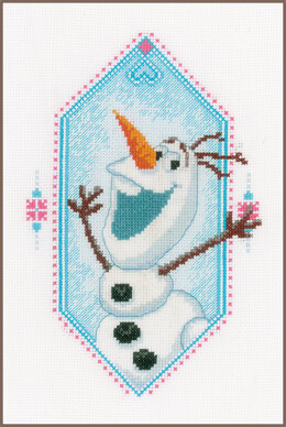 Vervaco Frozen - I'm Olaf Cross Stitch Kit - PN-0167298