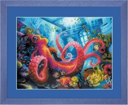 Riolis The Underwater Kingdom Cross Stitch Kit - Multi