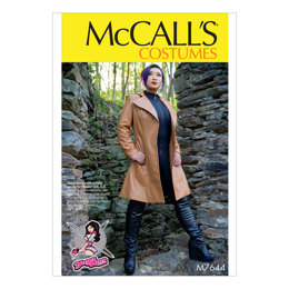 McCall's Misses' Coat Costume M7644 - Sewing Pattern