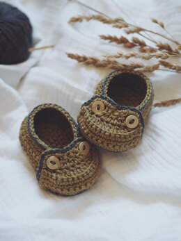Two Button Moccasins