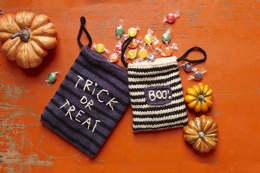 Scary Treat Bags in Lion Brand Vanna's Choice - L30192