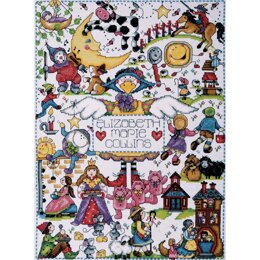 Design WorksNursery Rhymes Counted Cross Stitch Kit - 11in x 15in