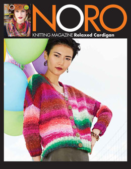 Relaxed Cardigan in Noro Taiyo - 29 - Downloadable PDF