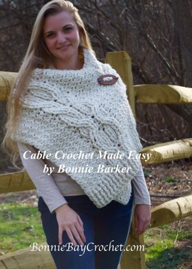 Crazy Chunky Cabled Stole