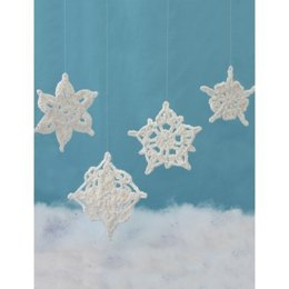 Assorted Snowflakes in Lily Sugar 'n Cream Solids