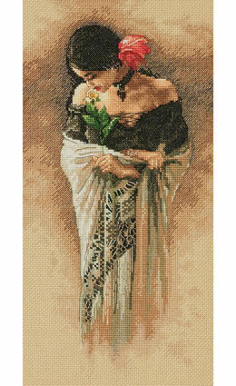 Dimensions The Rose Cross Stitch Kit - D70-35331