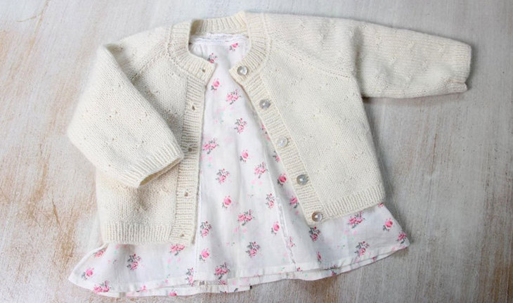 Princess Charlotte Cardigan by Florence Merlin