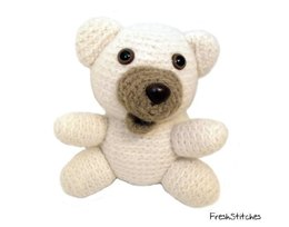 Amigurumi Little Ger the Felted Bear