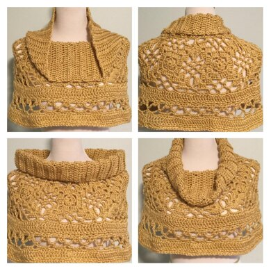 Lacy Capelet Shawl