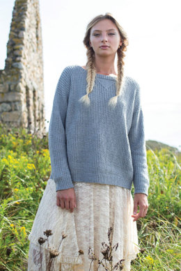 Catarratto Jumper in Berroco Summer Silk - 384-2