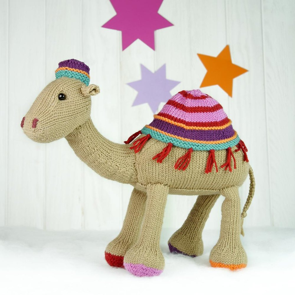 Kemal the Camel / Kemal das Kamel Knitting pattern by Steffi Hochfellner