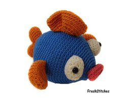 Amigurumi Willy the Fish