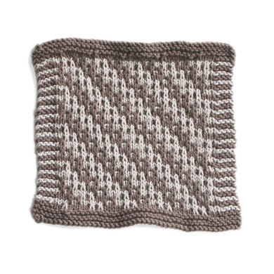Pebble Beach Washcloth in Lion Brand Cotton-Ease - 90395AD