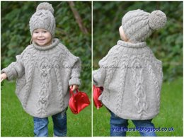 Temptation Poncho and Hat Set