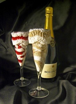 Champagne Tower Socks