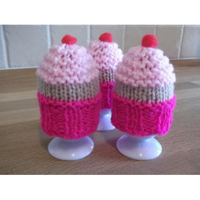 Egg Cosy - Cupcake style.