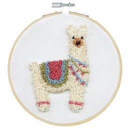 Dimensions Llama Punch Needle Kit - 20cm