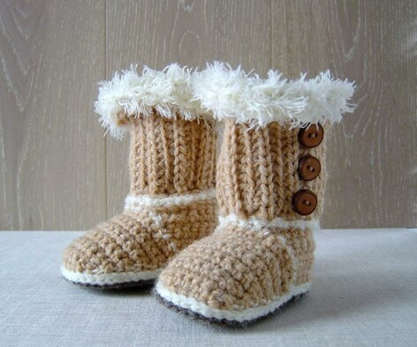 Crochet Baby SnUgg Booties