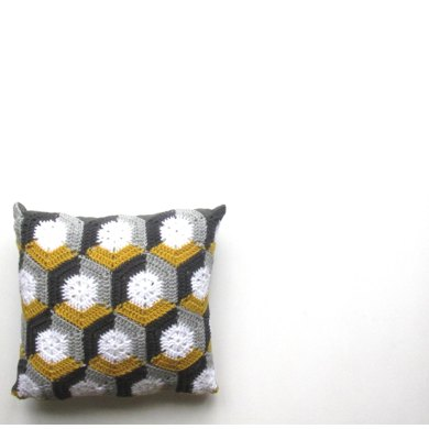 Honeycomb Hexie Cushion
