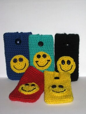 Iphone cover smiley face