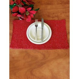 Placemat in Bernat Handicrafter Holidays