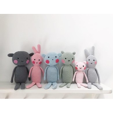 Posy + Petal - Woodland Creatures in Little Dot Wood