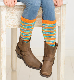 Switch A Roo Legwarmers in Spud & Chloe Fine and Stripey Fine