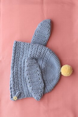 6c0c1fe68c8 Bonnie Bunny Bonnet Bonnie Bunny Bonnet Downloadable PDF. Free. Free. Save.  Crochet Dual Ridge Cap ...