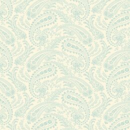 Andover Annabelle - Line Paisley Lt Teal