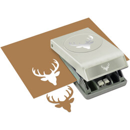 EK Success Large Punch - Deer Head, 2""