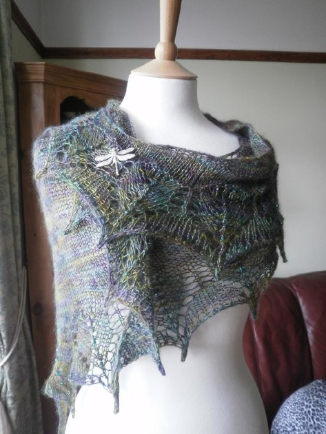 Dragonfly Wings Knitting Pattern By Boo Knits Knitting