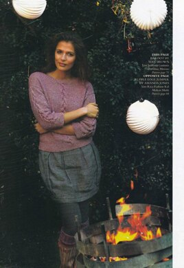Rib and Cable Jumper