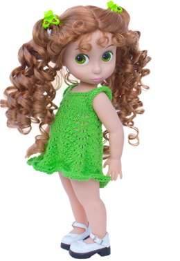 Crayon Collection Green Dress