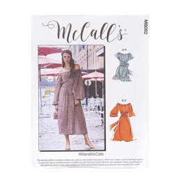 McCall's Misses' Dresses M8092 - Sewing Pattern