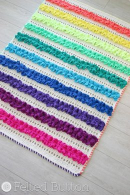 Ruffled Ribbons Blanket & Mat