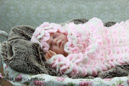 Crocodile Papoose Crochet Pattern #183