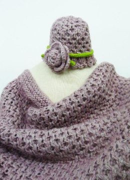 Candice baby blanket and hat