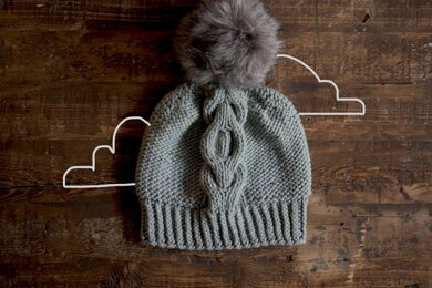 Cloudy Cables Hat