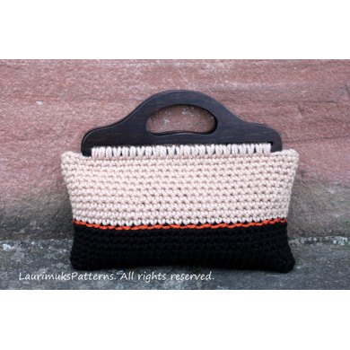 Red Heart Lisa Big Crochet Bag Pattern Crochet Pattern By Laura Dovile