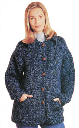 Country Jacket Lion Brand Wool-Ease Thick & Quick - 10181