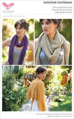 Sunshine Daydream Scarves in Be Sweet Bamboo