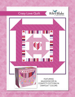 Riley Blake Crazy Love Quilt  - Downloadable PDF