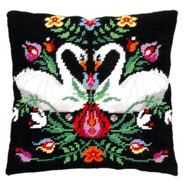 Vervaco Zara the Swan Cushion Tapestry Kit