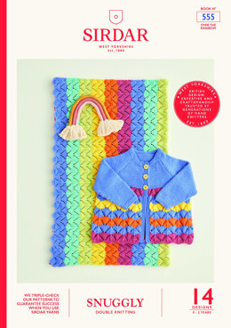 Snuggly DK Over the Rainbow Book by Sirdar