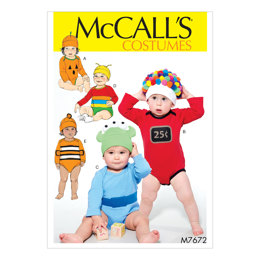 McCall's Infants Costumes M7672 - Sewing Pattern