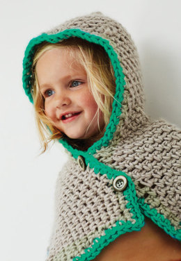Hooded Cowl in Bernat Softee Baby Chunky - Downloadable PDF