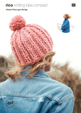 Cabled Jackets and Hat in Rico Creative Twist Super Chunky - 498 - Downloadable PDF