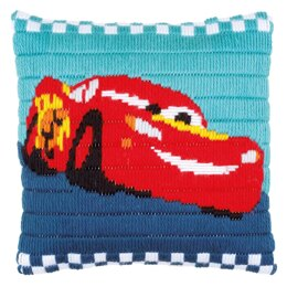 Vervaco Disney - Cars Long Stitch Cushion Kit - Multi