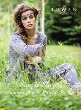 Simple Shapes Summerspun and Purelife Revive von Rowan