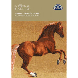DMC The National Gallery - Whistlejacket - 30cm x 28cm